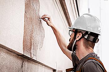 Amarrar paredes com rachaduras<br> e trincas: dicas e procedimentos