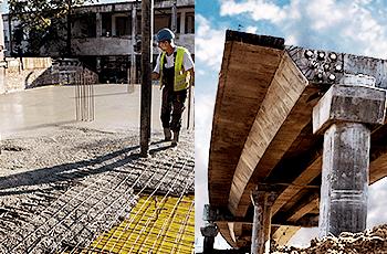 Diferença entre concreto armado e protendido